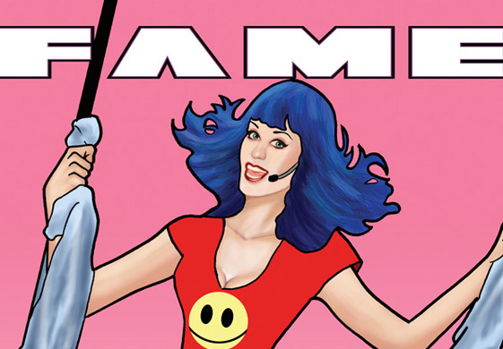 Fame: Katy Perry - comic
