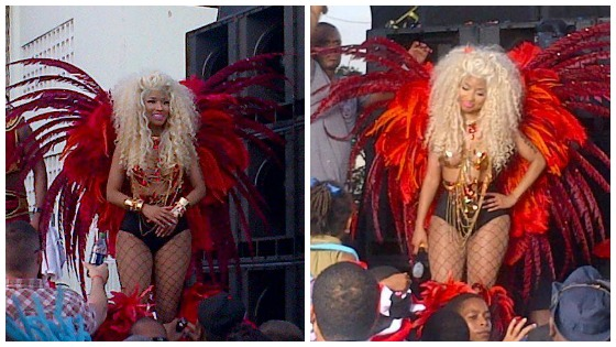Nicki-Minaj-Pound-The-Alarm-Video-Shoot