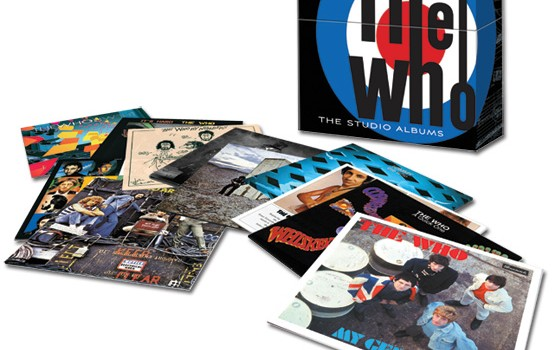 The Who studio album set box