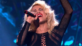 Rita Ora @ X-Factor UK