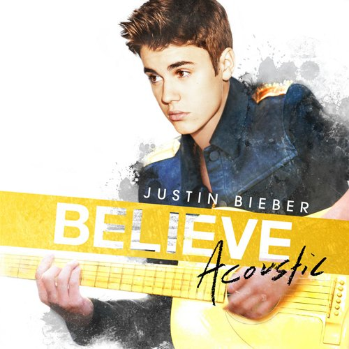 Ο Justin Bieber Acoustic Album artwork