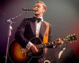 Justin Timberlake live at super bowl 2013