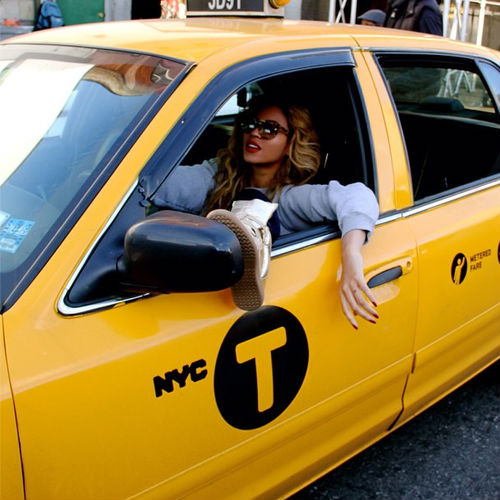 H Beyonce taxi driver instagram