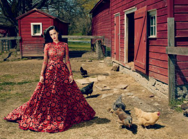 Katy Perry Vogue Ιουλίου 2013