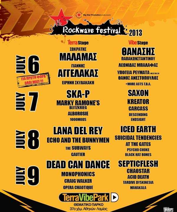 rockwave 2013 poster - Hit Channel
