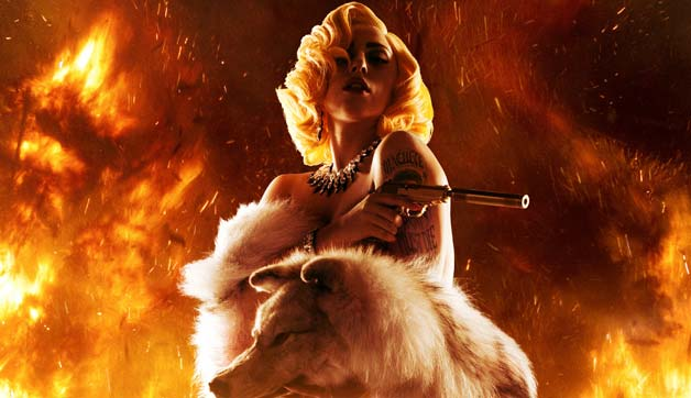 Lady Gaga - Aura- Machete Kills