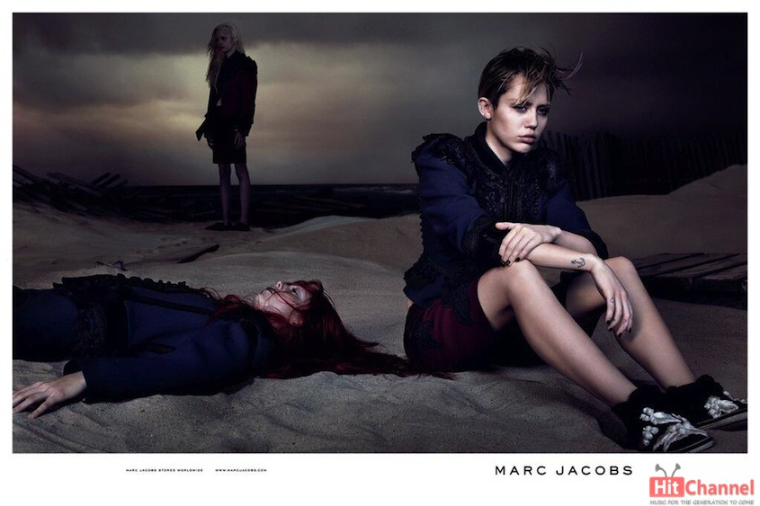 Miley Cyrus - Marc Jacob   2014