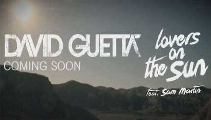 David Guetta - Lovers On The Sun (Official Video teaser) ft Sam Martin