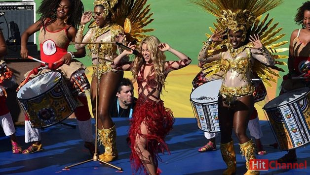 Shakira World Cup 2014 Closing Ceremony