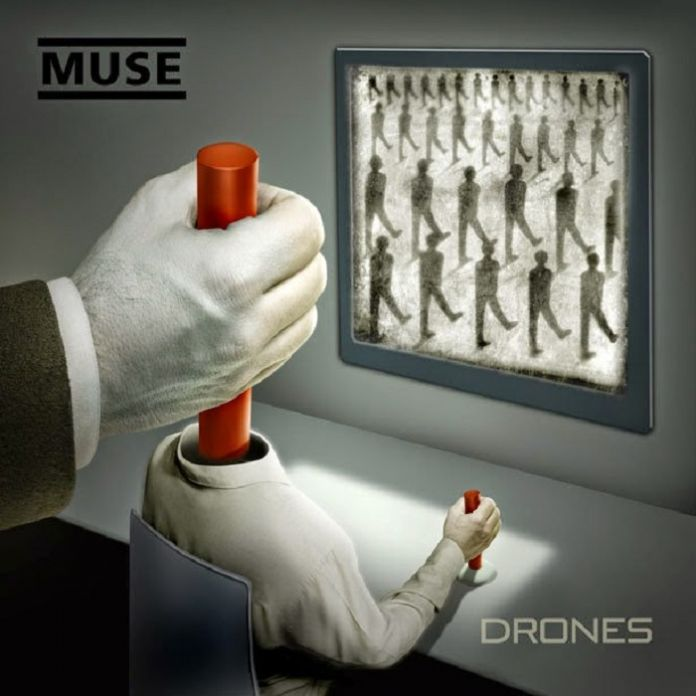 Muse Drones Album Cover