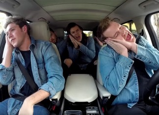 "One Direction: To ""carpool karaoke"" με το James Corden είναι viral!"