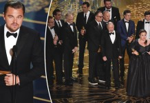 Oscar Awards 2016 - Leonardo DiCaprio - Spotlight actors - Hit Channel
