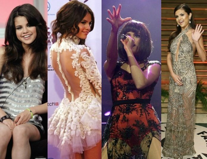 Then and Now: Δείτε πως έχει αλλάξει η Selena Gomez όλα αυτά τα χρόνια;