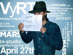 30 Seconds To Mars - VyRT A Unique Virtual Social Experience