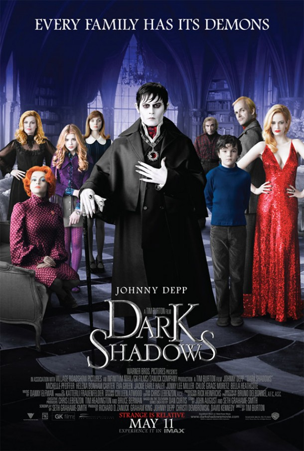 Dark Shadows- poster