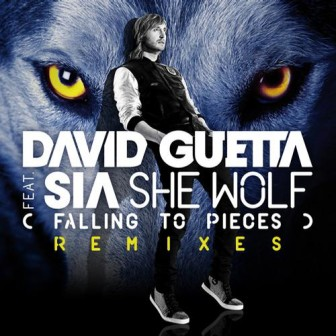 David Guetta ft Sia - She Wolf (Falling to Pieces) (single cover)