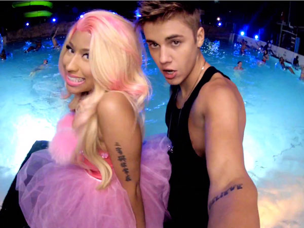 Justin Bieber & Nicki Minaj - 'Beauty and a Beat'