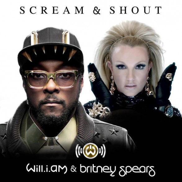 Will.I.Am & Britney Spears - Scream & Shout  single cover