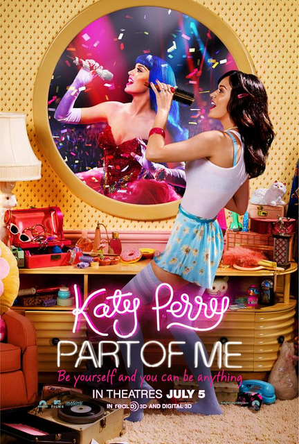 Katy Perry Part Of Me 3d Movie Poster