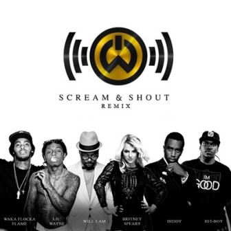 will.i.am & Britney Spears 'Scream & Shout' remix