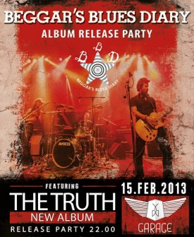 Beggar's Blues Diary release party