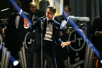Justin Timberlake live performance at Grammy  Awards2013