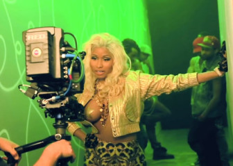 Nicki Minaj - Freaks (behind the scenes)