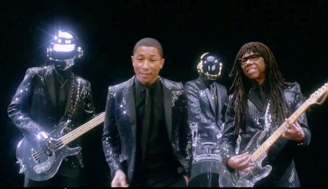 Daft Punk – Get Lucky (feat. Pharrell and Nile Rodgers)