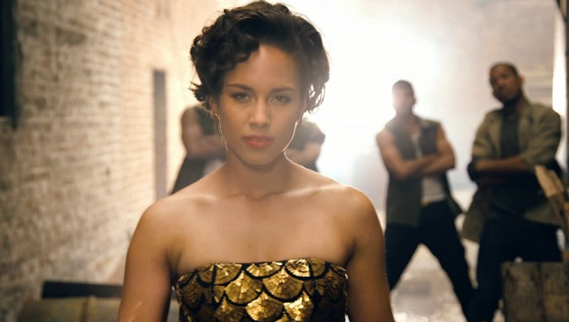 Alicia Keys - New Day video shot - Hit Channel