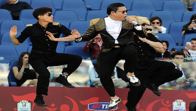 Psy at Rome - hit channel