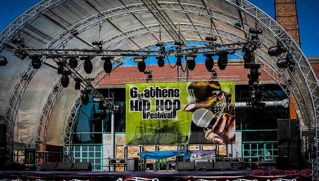 6th Athens Hip Hop Festival - σκηνή