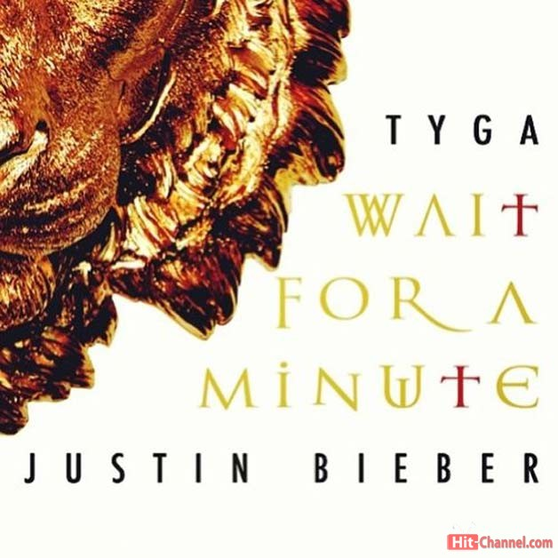 Justin Bieber - Wait For A Minute Feat. Tiga - artwork