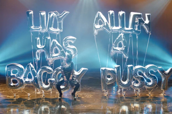 Lily-Allen-Hard-out-here-video photo