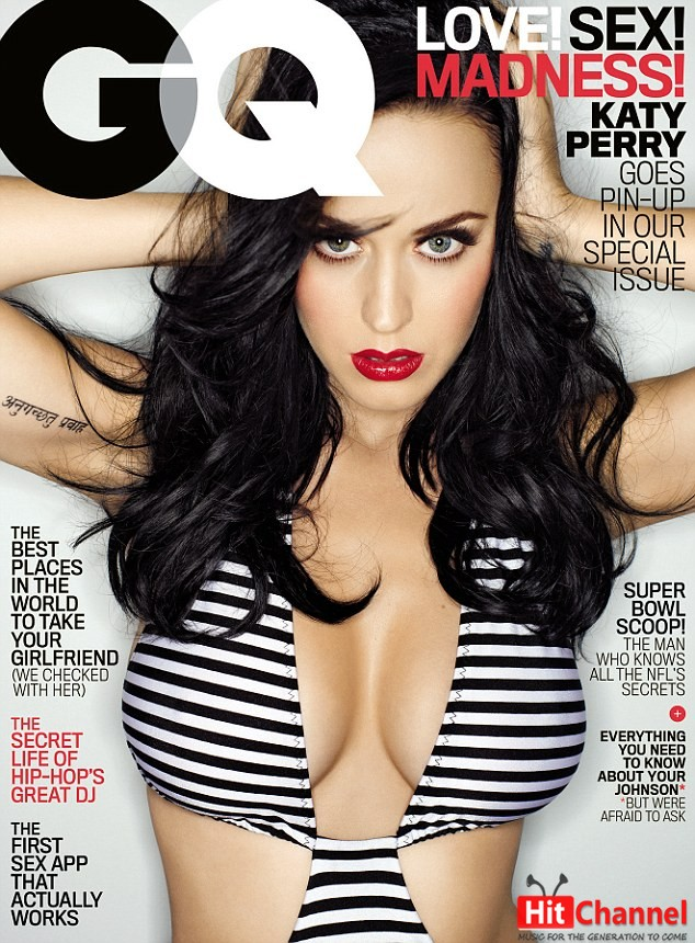 Katy Perry GQ cover
