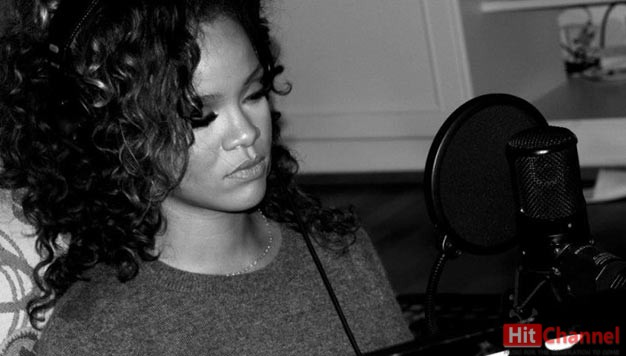 Rihanna-music-studio