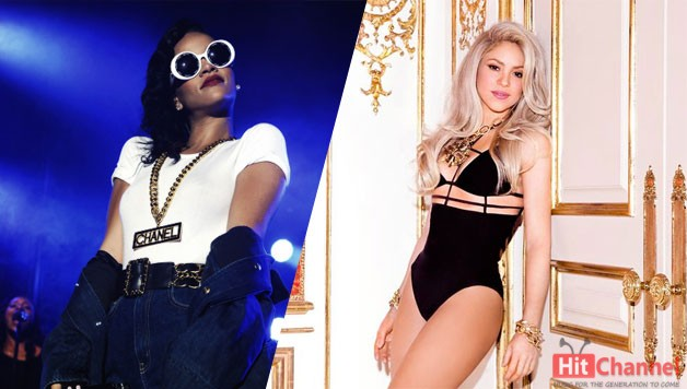rihanna-shakira-new-single-Cant-Remember-To-Forget-You