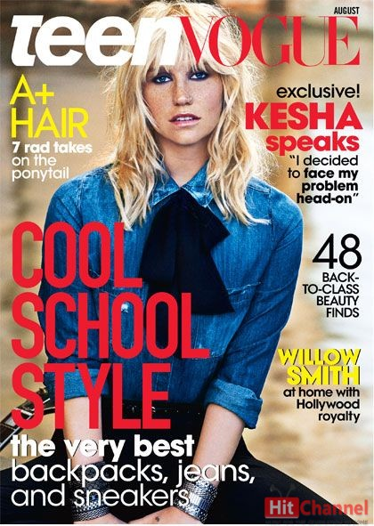 Kesha  Teen Vogue 2014
