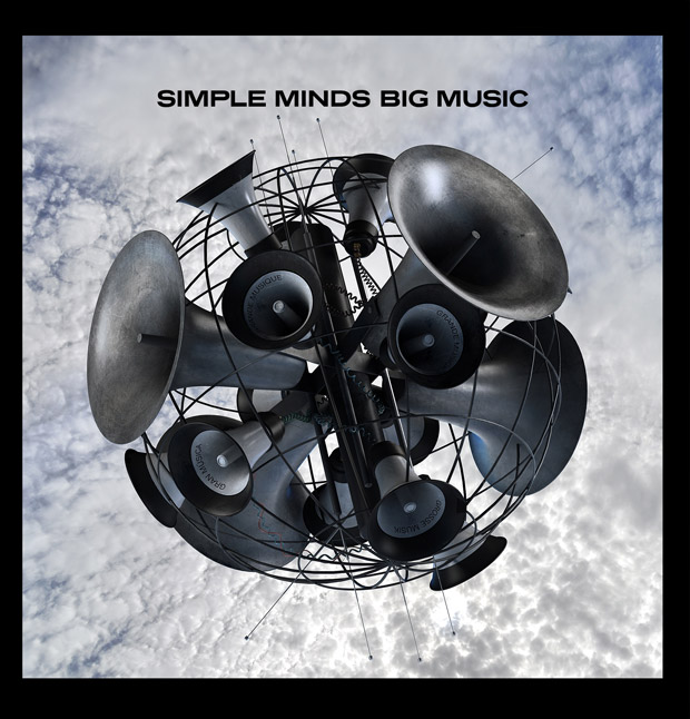 "Simple Minds ""Big Music"" album cover"