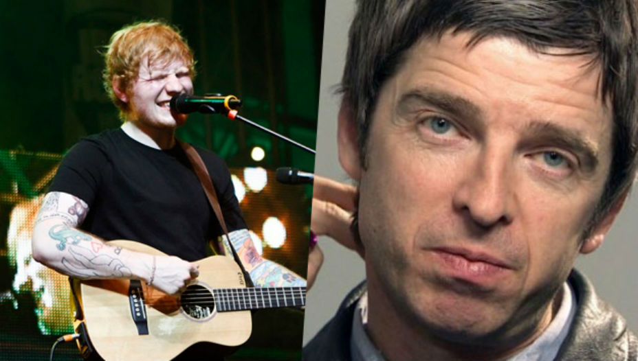 Ed Sheeran vs Noel Gallagher