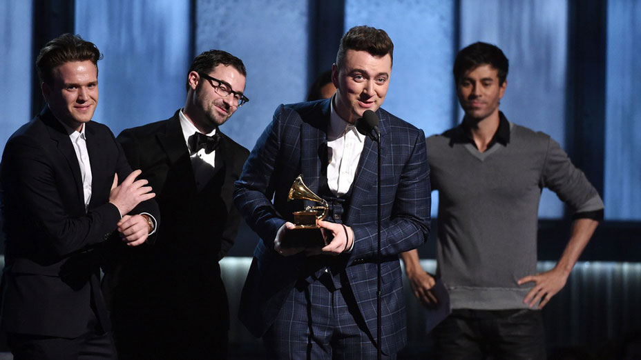 Sam-Smith Record of the year   Grammys