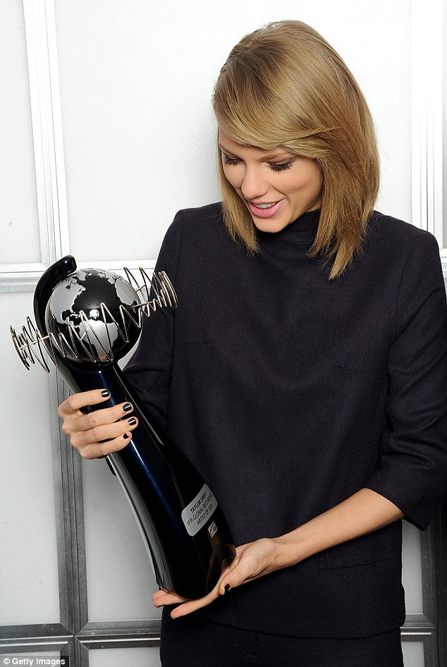 Taylor Swift IFPI Global Recording Artist of 2014 - 1