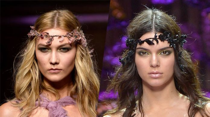Kendall Jenner και Karlie Kloss για την Atelier Versace: WOW!