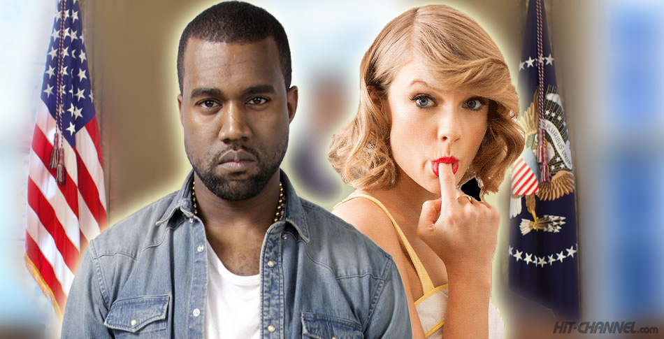 Kanye-West-Taylor-Swift-White-House-2020-Presidential-Elections - Hit Channel
