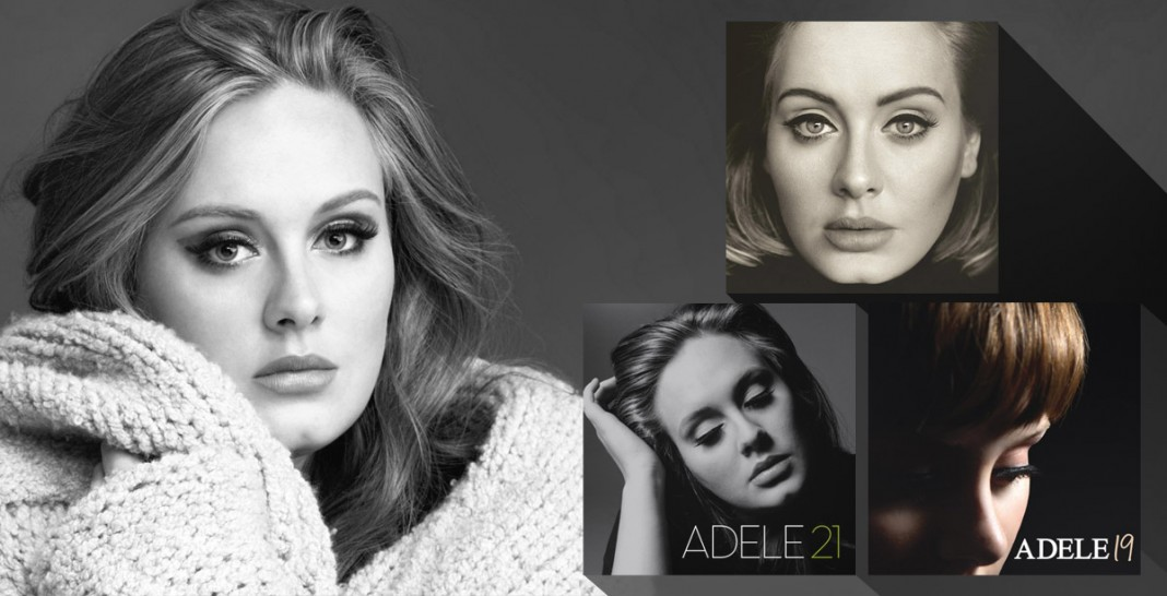 Adele - ablum covers 19 21 25 - Hit Channel