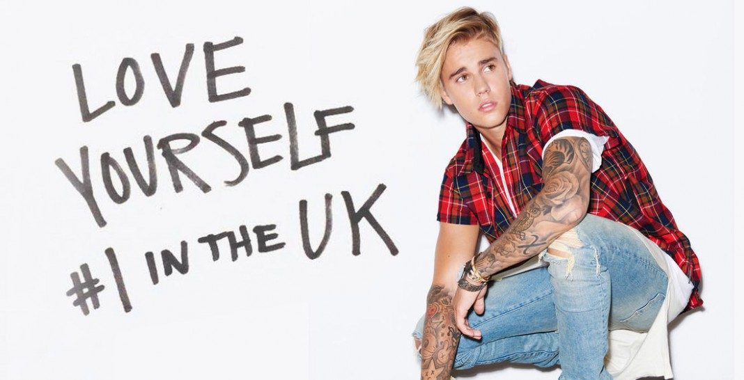 Justin Bieber - Love yourself uk chart - Hit Channel
