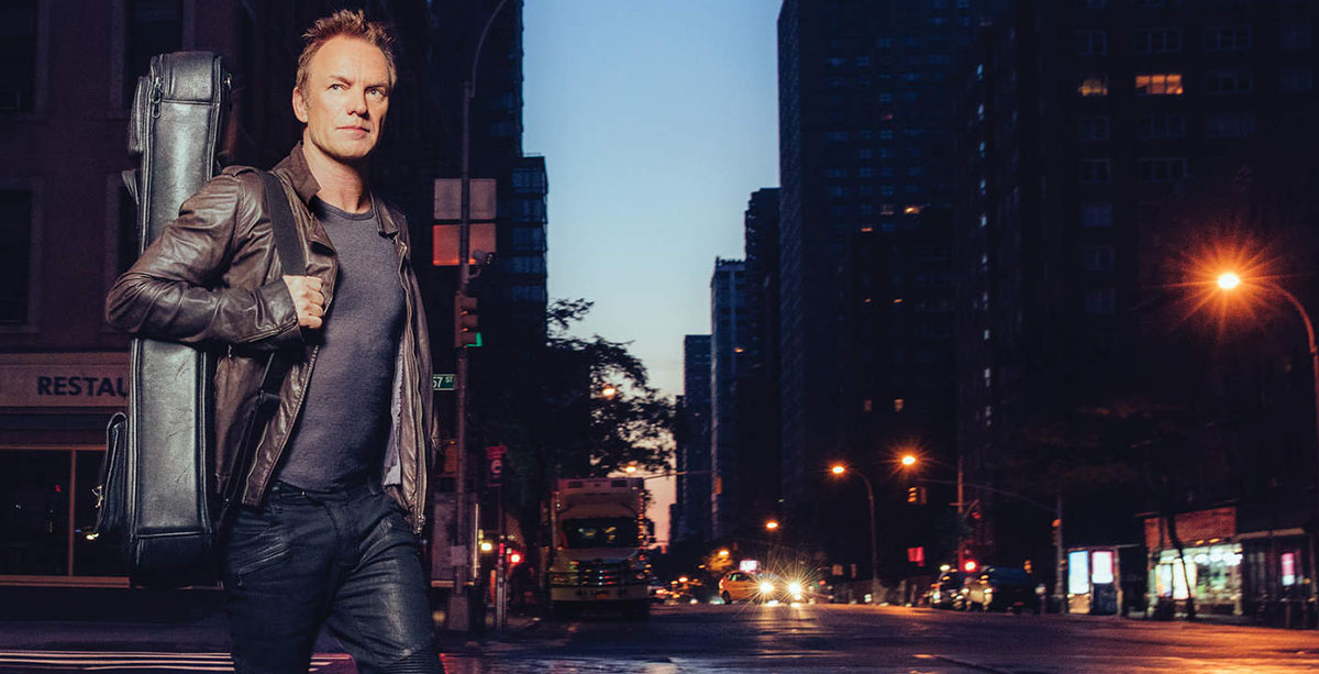 Sting - 57th & 9th (CD album cover 2016 - Hit Channel