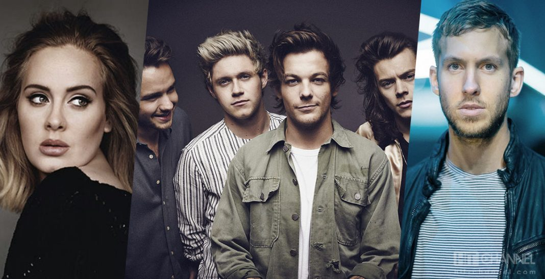 Adele - One Direction - Calvin Harris - Hit Channel