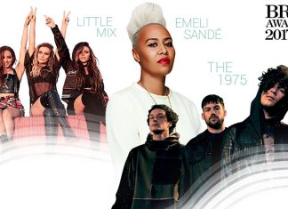 Little Mix - Emeli Sande - The 1975 - BRIT Awards 2017 performers - Hit Channel