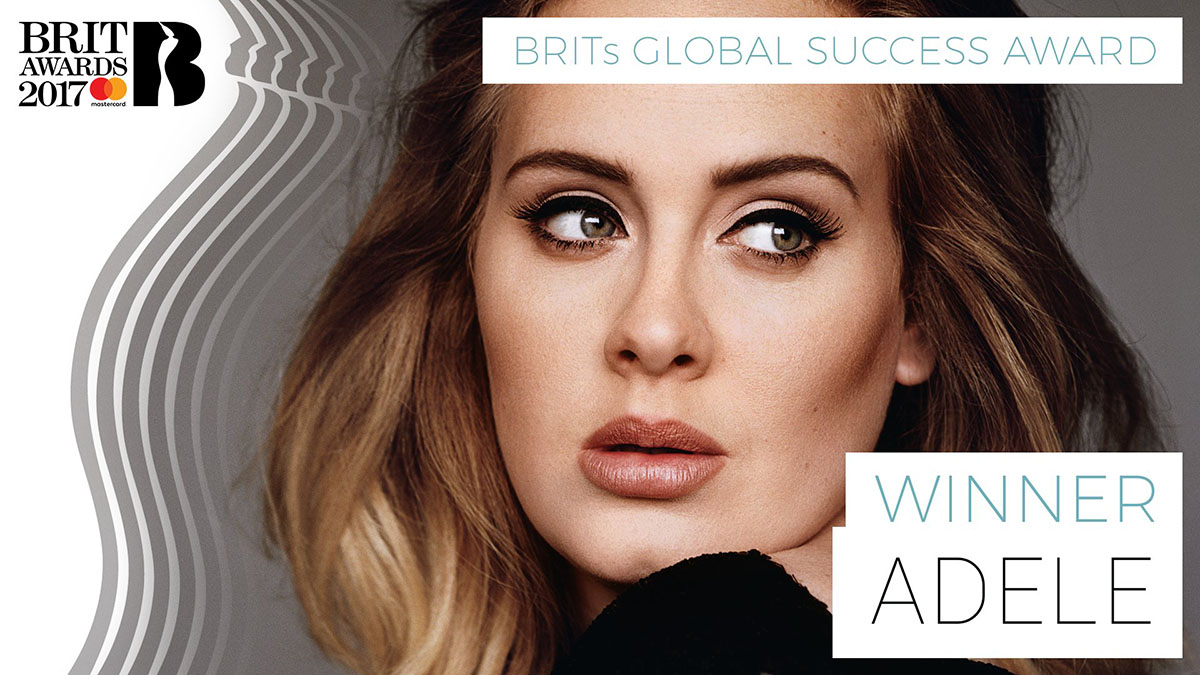 BRIT Awards 2017 - Adele - Hit Channel