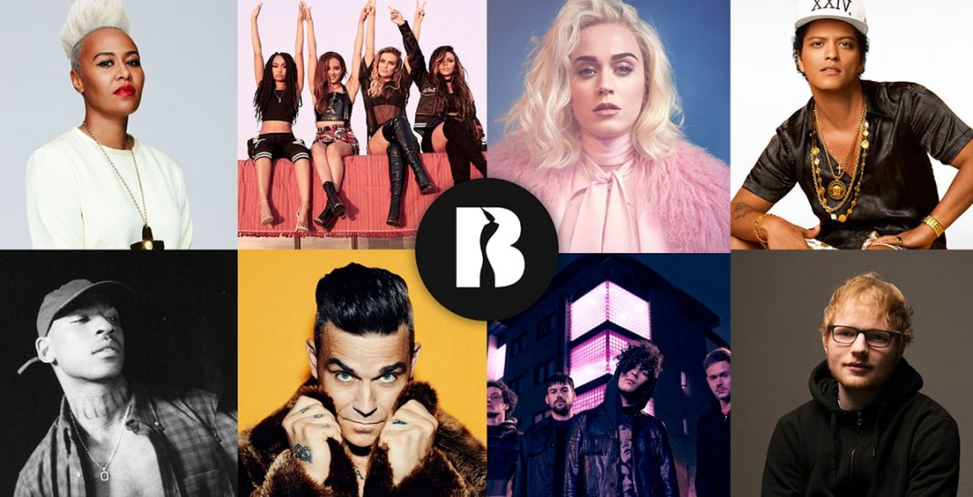 BRIT Awards 2017 - artists - Hit Channel